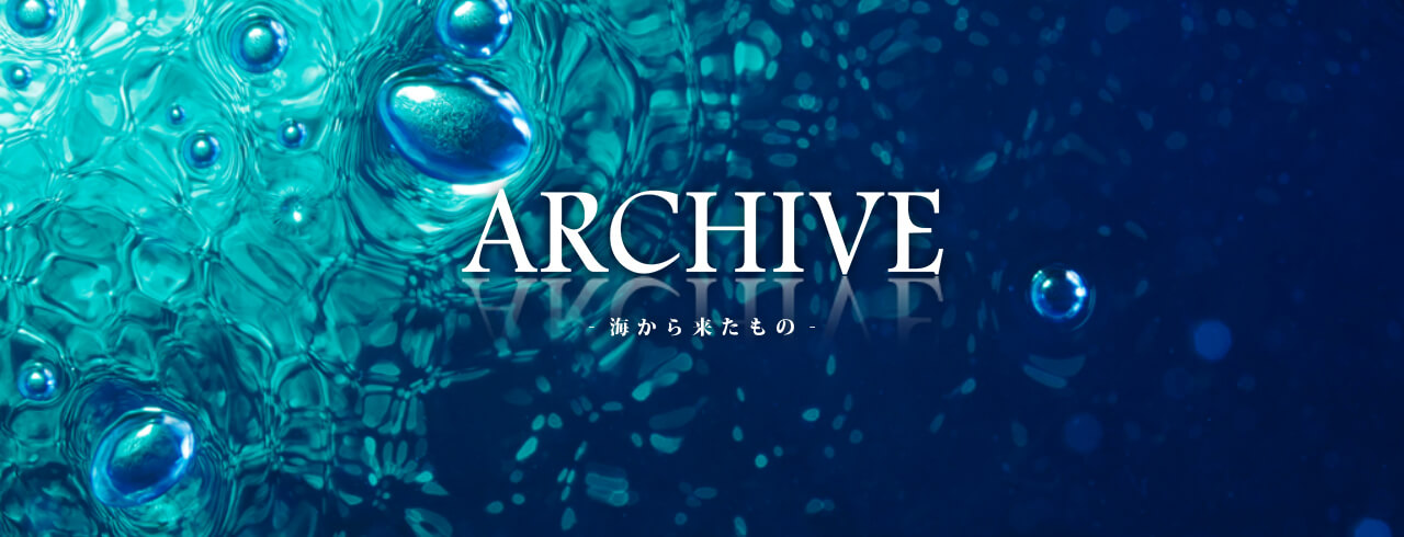 2009 COLLECTION ARCHIVE -海から来たもの-